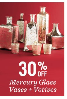 30% off mercury glass