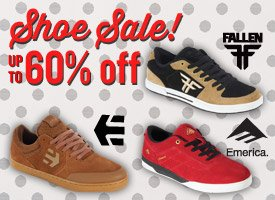 Shoe Sale up to 60% Off!