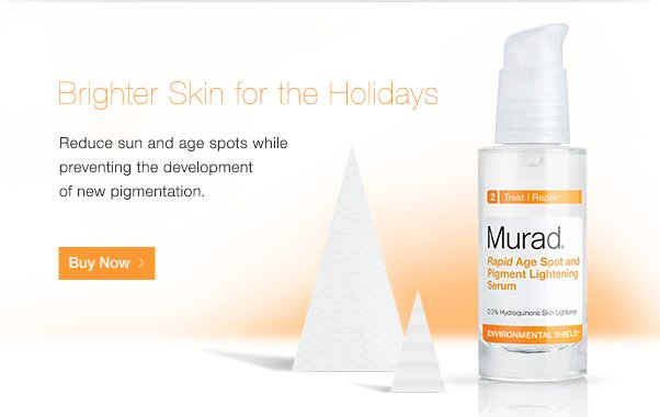 Brighter Skin for Holidays