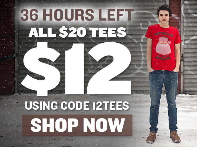 All $20 Tees Just $12 With Code