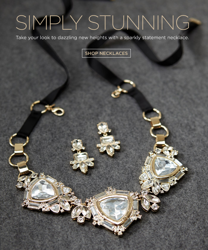 SIMPLY STUNNING | SHOP NECKLACES