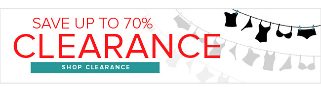 Save Up To 70% - Clearance Sale