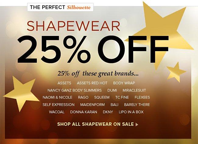 Shapewear 25% Off