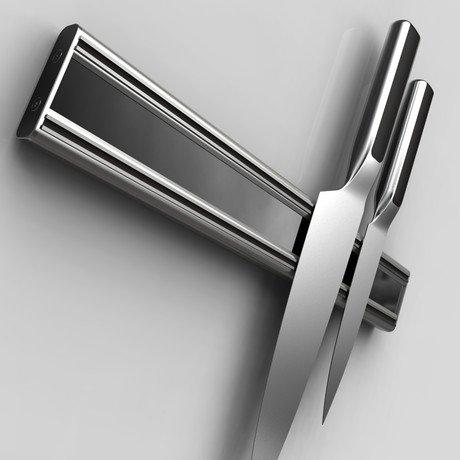 "Bisbell Pro Aluminum & Acrylic Rack // 18"""
