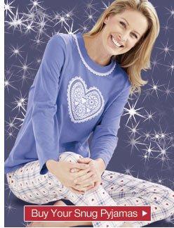Buy your snug pyjamas