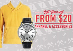 Shop Gift Yourself: Apparel from $20
