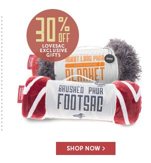 30% Off Lovesac Exclusive Gifts - Shop Now!