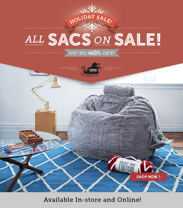 Holiday Sale - All Sacs On Sale! Up to 40% Off!