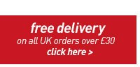free delivery on all UK orders over £30