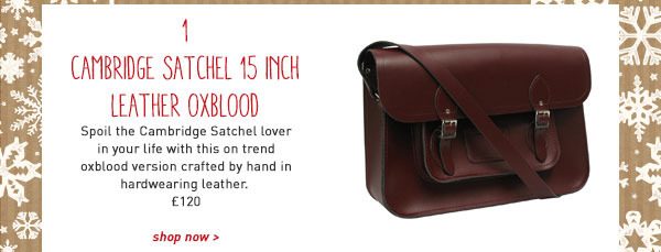 cambridge satchel 15 inch leather oxblood