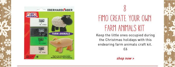 fimo create your own farm animals kit