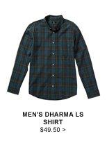 Men's Dharma LS Shirt $49.50