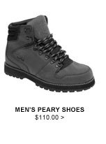 Men's Peary Shoes $110.00