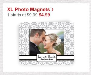 XL Photo Magnets › 1 starts at $9.99 Now $4.99
