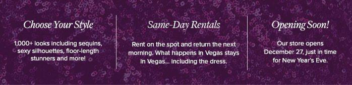 Vegas Showroom - Rent on the spot