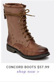 Concord Boots $57.99 - Shop now