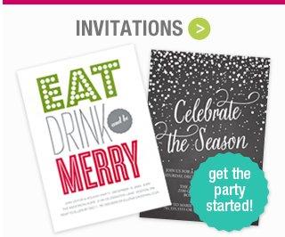 Shop Holiday Invitations