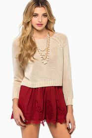 Keira Cropped Sweater