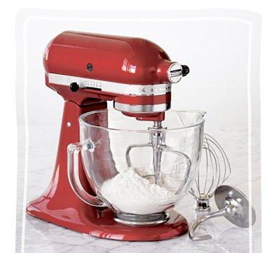 KitchenAid® Artisan Red Stand Mixer