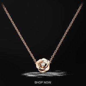 Piaget Rose pendant - G33U0081
