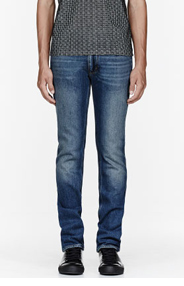 ACNE STUDIOS Blue faded Vintage-style Max jeans for men