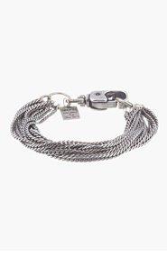 GOTI Silver 713 Multi-Chain Bracelet for men