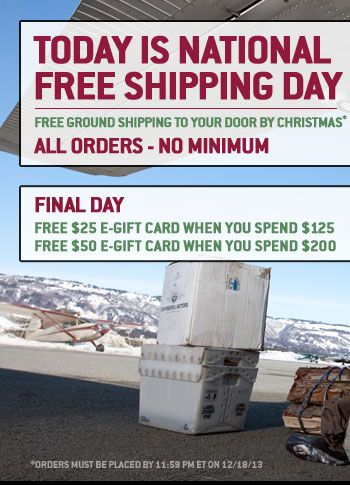 FREE SHIPPING ON ALL ORDERS - NO MINIMUM PURCHASE