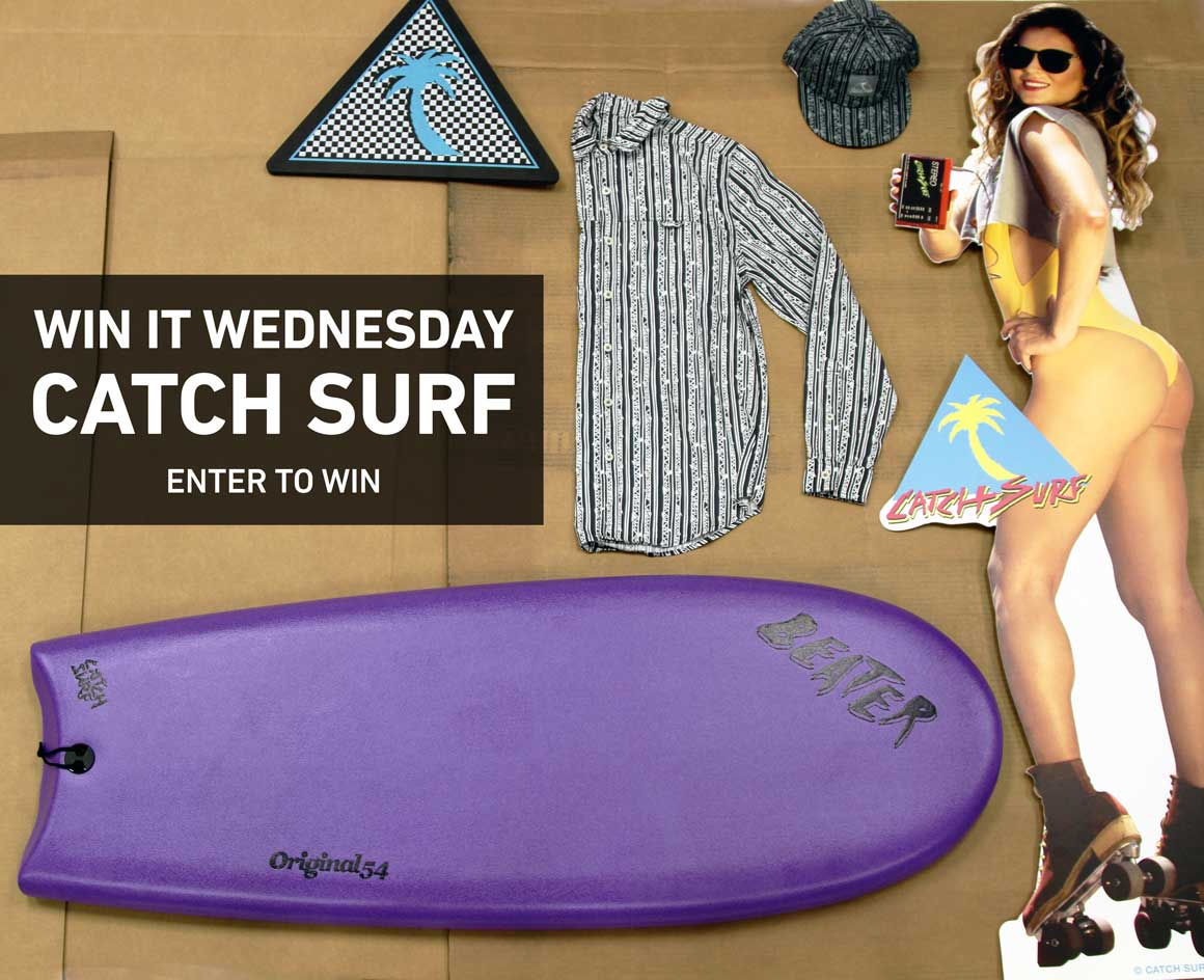 Enter To Win A New Beater Board from Catch Surf!