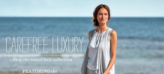 Shop The Travel Knit Collection