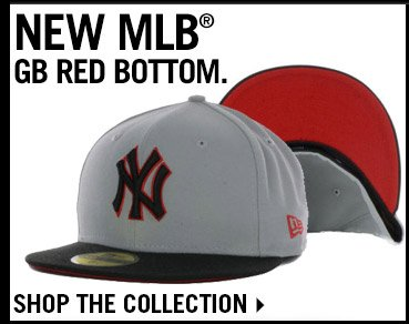 Shop MLB GB Red Bottom Collection