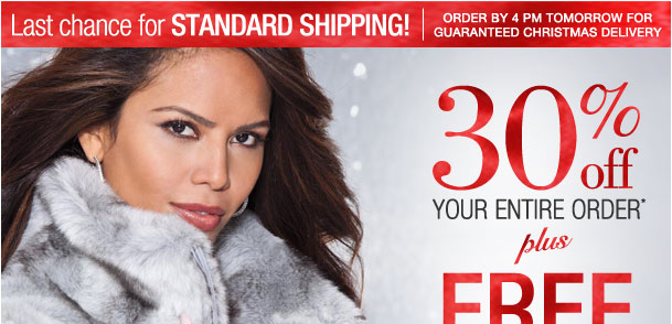 30% off Entire order! Plus free shipping when you spend $50 or more! Use RDSTANDARD