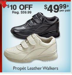 Leather Walkers $49.99 per pair