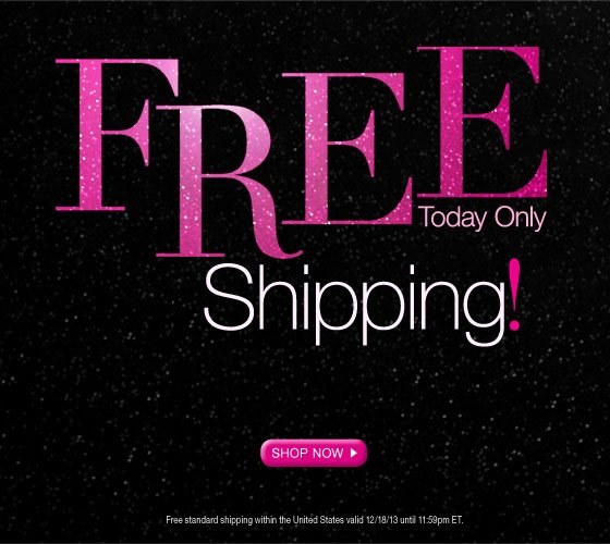 Free Shipping! Today Only
