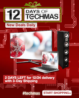 12 days of techmas. new deals daily. 2 days left for 12/24 delivery with 3-day shipping. start shopping.
