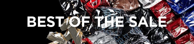 Best of the sale: leather tops, printed denim and oversized bags