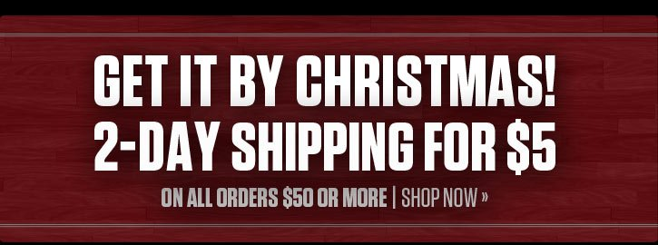 2-Day Shipping For $5