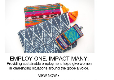 Employ One. Impact Many.