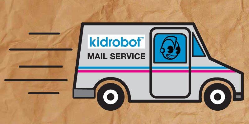Kidrobot mail service