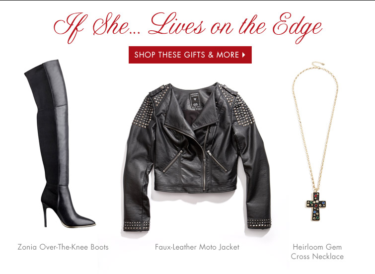 LIVES ON THE EDGE SHOP THESE GIFTS & MORE