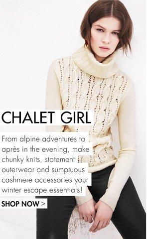 CHALET GIRL - SHOP NOEW