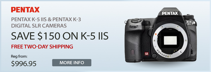Adorama - Pentax K-5 IIS & Pentax K-3 DSLR Cameras