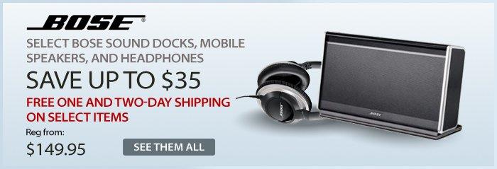 Adorama - Bose Select Shipping