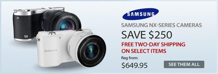 Adorama - Samsung NX-Series Cameras