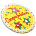 Congratulations Iced Cookie Cake