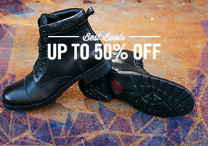 Shop Gear Up: Best Boots up to 50% Off