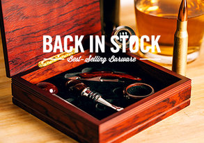Shop BACK IN STOCK: Best-Selling Barware