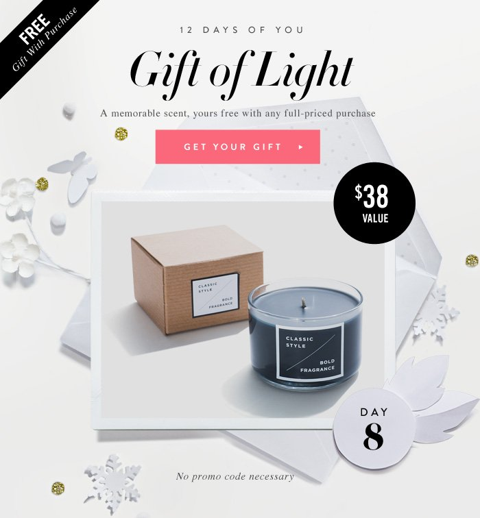 12 Days of You - Gift of Light