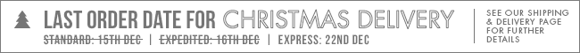 Express Shipping Ends 22 Dec