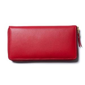 Comme des Garcons WALLET Classic Leather Line Long Wallet Red