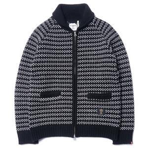 "Bedwin ""Jaco"" Shawl Collar Cowichan Sweater"